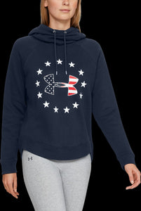 'Under Armour' 1332413 408 - Freedom Favorite Hoodie - Academy