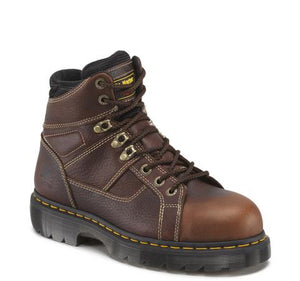 "'Dr. Martens' Men's 6"" Ironbridge Leather EH WP Steel Toe - Brown"