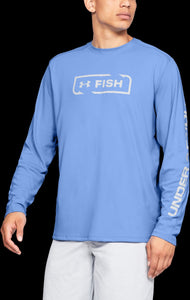 'Under Armour' 1344119 475 – Iso-Chill Shore Break Crew - Carolina Blue