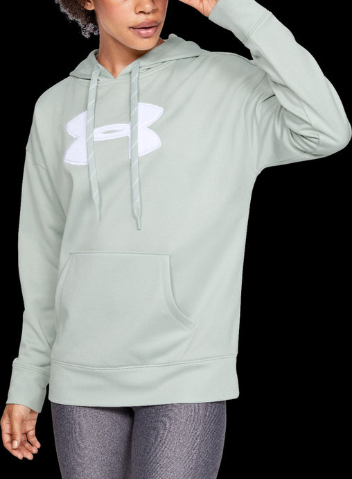 'Under Armour' 1348246 190 - Women's LS Fleece Hoodie - Atlas Green