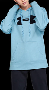 'Under Armour' 1348246 486 - Women's LS Fleece Hoodie - Mobile Blue