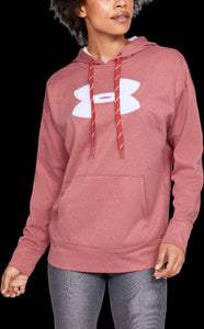 'Under Armour' 1348246 692 - Women's LS Fleece Hoodie - Fractal Pink