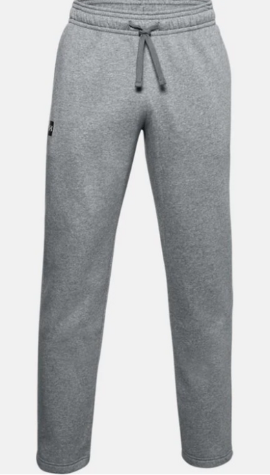 'Under Armour' Men's Rival Fleece Pant - Pitch Grey