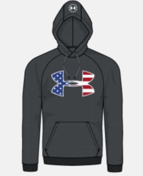 'Under Armour' Men's Freedom Rival Hoodie - Grey