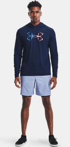 'Under Armour' Men's Iso-Chill Freedom Hook Hoodie - Academy