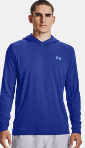 'Under Armour' Men's Iso-Chill Shorebreak Fill Hoodie - Royal