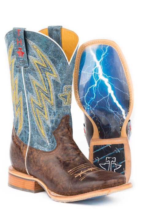 Guy's Spiky Wire Thunderstorm - Brown / Blue / Yellow