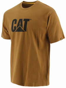 'Caterpillar' Men's Trademark Logo Tee - Bronze