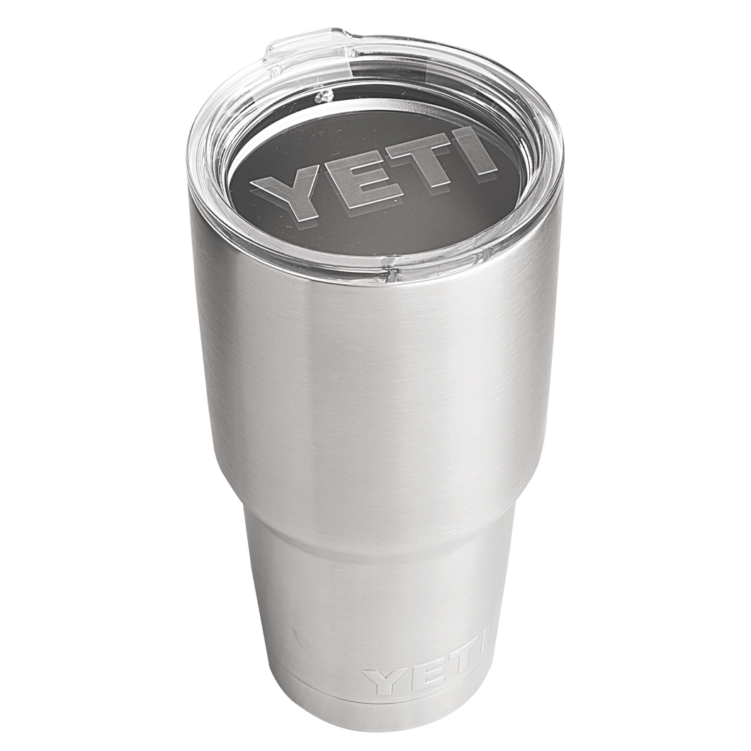 'YETI' 30 oz. Rambler Insulated Tumbler - Stainless Steel