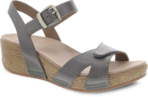 'Dansko' Women's Laurie Sandal - Stone Burnished Calf