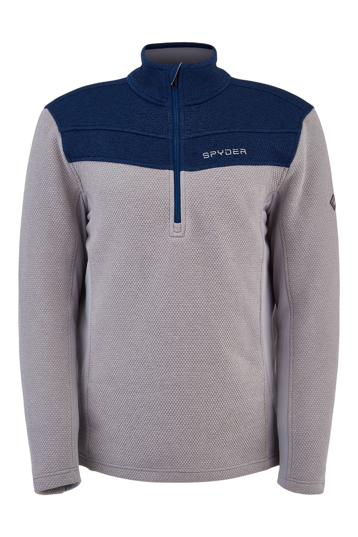 'Spyder' Men's Encore 1/2 Zip Fleece - Alloy Abyss