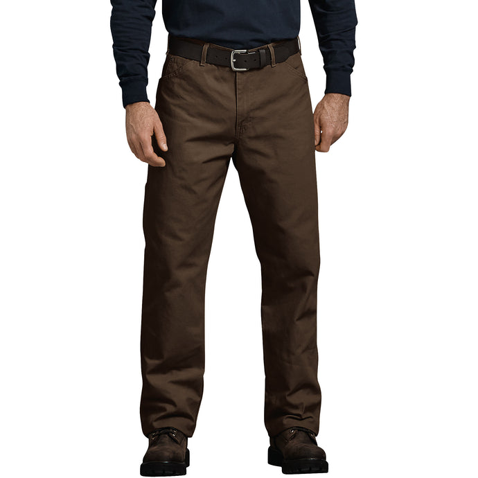 Relaxed Fit Straight Leg Carpenter Duck Jeans - Timber Brown