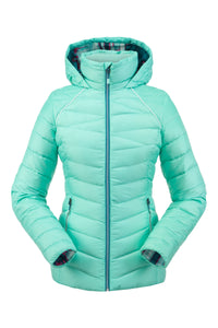 'Spyder' 194027 349 - Women's Timeless Hoodie Down Jacket - Vintage