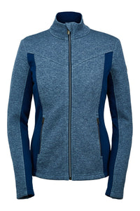 'Spyder' Women's Encore Fleece Jacket - Abyss Heather
