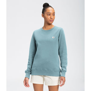 'The North Face' Women's Heritage Patch Crew Sweatshirt - Tourmaline Blue