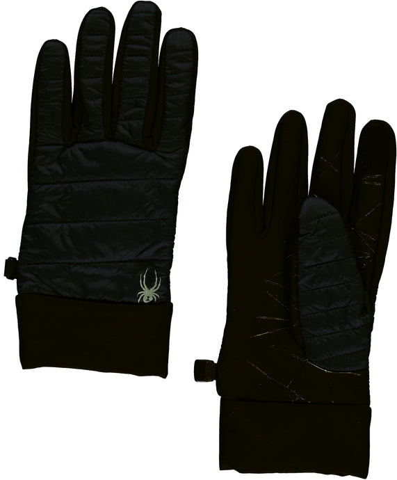 'Spyder' Women's Glissade Hybrid 60GR Insulated Gloves - Black