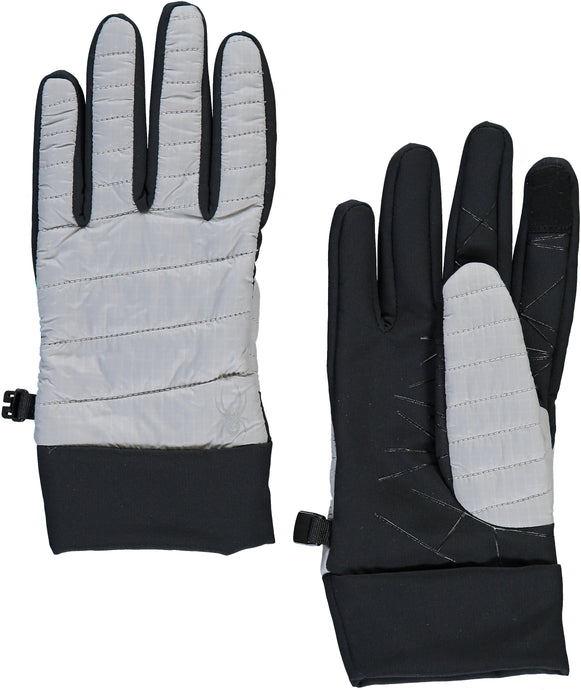 'Spyder' Women's Glissade Hybrid 60GR Insulated Gloves - Alloy