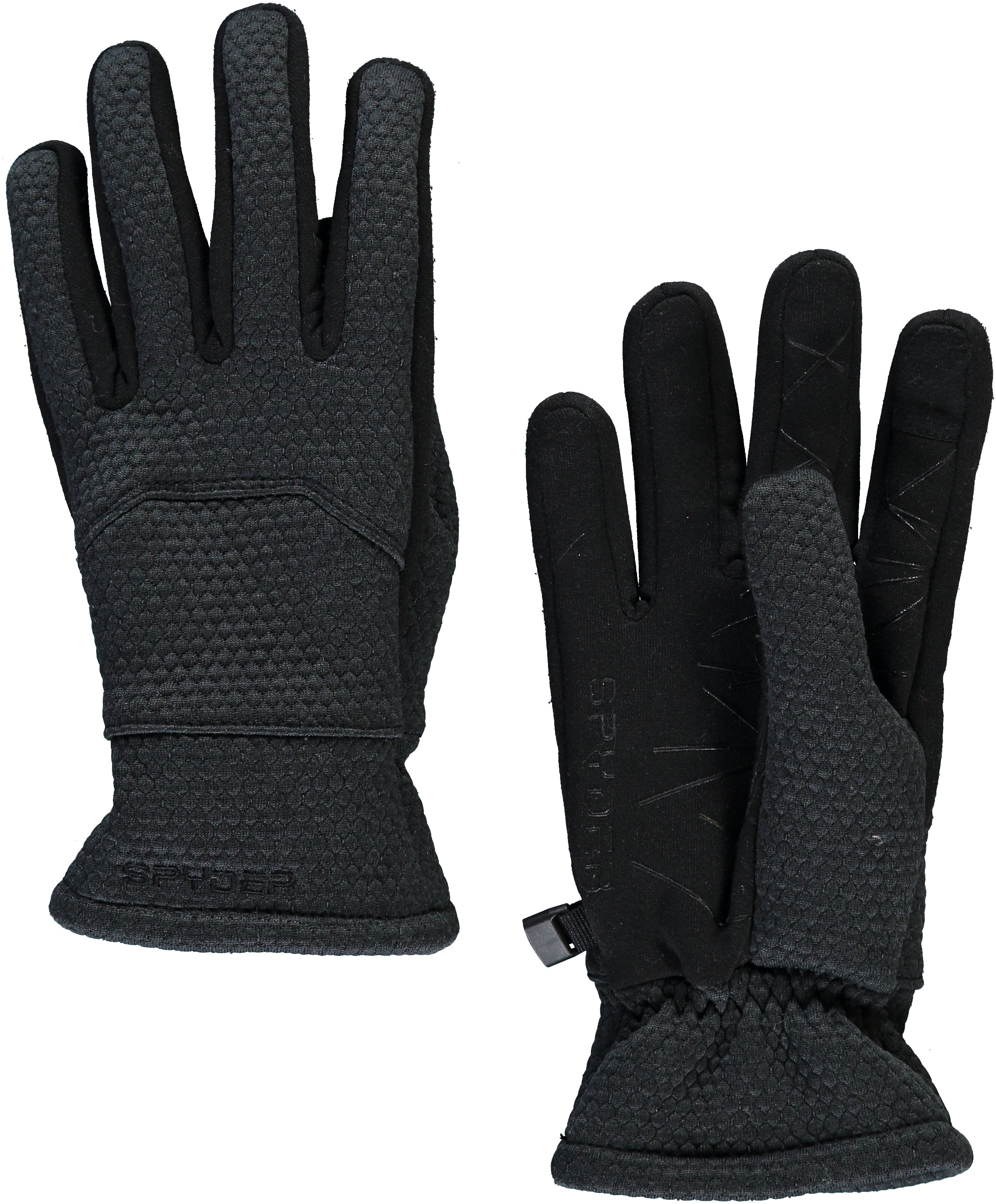 'Spyder' Women's Encore Gloves - Black