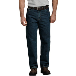 'Dickies' Relaxed Fit Carpenter Denim Jeans - Heritage Tinted Khaki