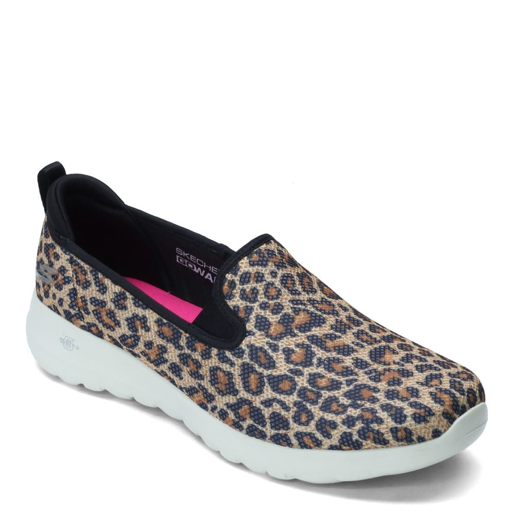 'Skechers' Women's GOwalk Joy Fiery Slip On - Leopard