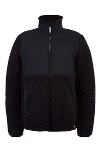'Spyder' Men's Boulder Fleece Jacket - Black