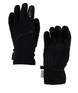 'Spyder' Women's Wander Infinium Fleece Gloves - Black