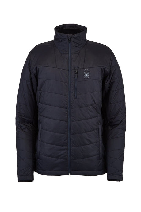 'Spyder' Men's Glissade Hybrid 60GR Insulated Jacket - Black
