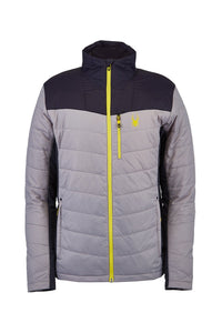 'Spyder' Men's Glissade Hybrid 60GR Insulated Jacket - Alloy