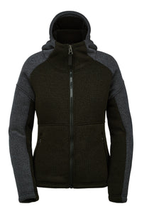 'Spyder' Women's Alps Full Zip Fleece Jacket - Black