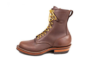 "'Whites Shoe Co' Men's 10"" Stockman - Brown"