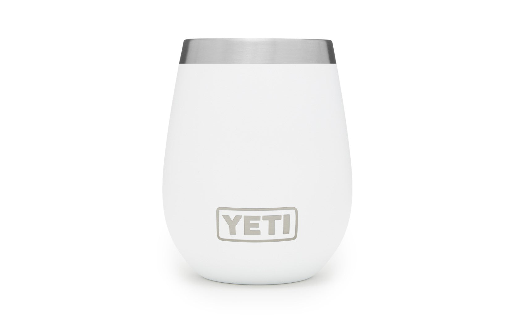 10 Oz. Wine Yeti Rambler - White