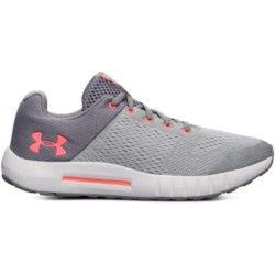 'Under Armour' 3020773 102 - Grade School Pursuit - Zinc Gray / Pink