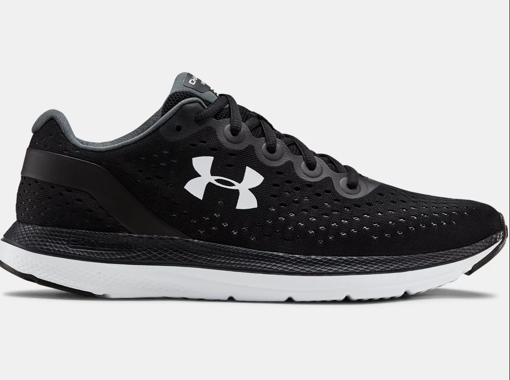 'Under Armour' Men's Charged Impulse - Black / White