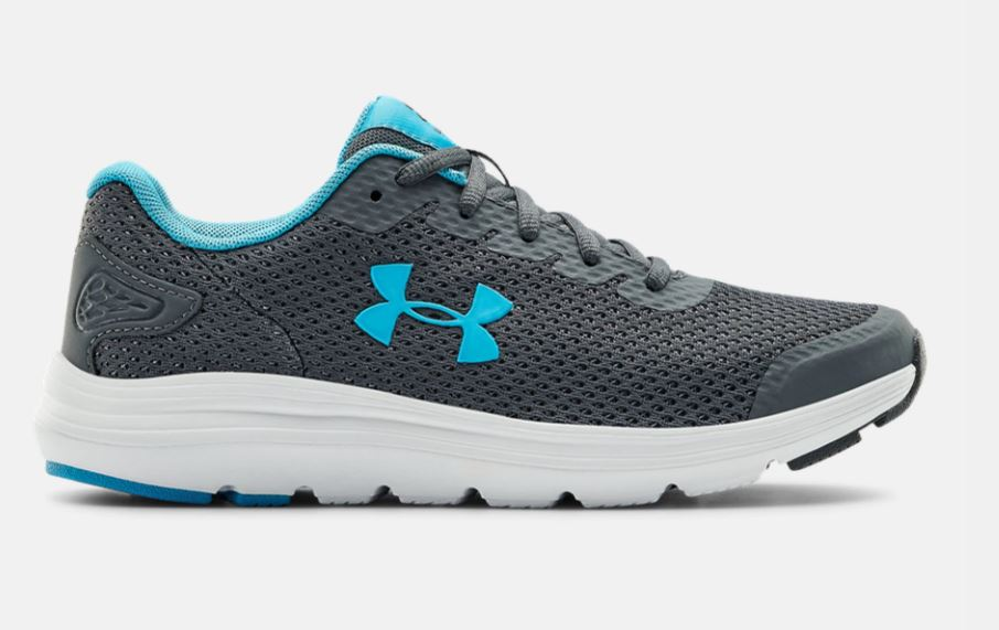 'Under Armour' Women's Surge 2 Running - Pitch Grey / Equator Blue
