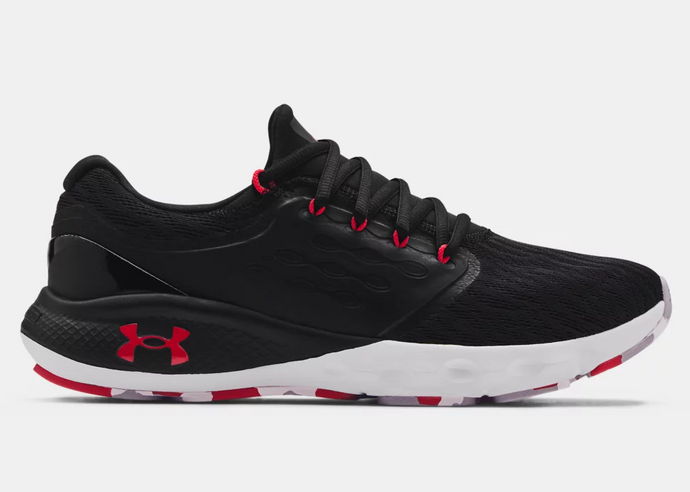 'Under Armour' Men's Charged Vantage Marble - Black / Grey / Red