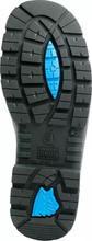 Argyle Side Zip ESD Steel Toe - Black