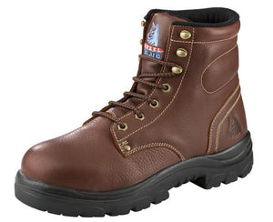 "'Steel Blue' Men's 6"" Argyle EH Steel Toe - Brown / Oak"