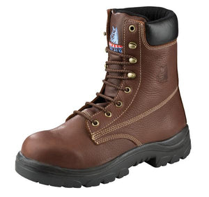 "'Steel Blue' Men's 8"" Portland ESD Steel Toe - Oak / Brown"