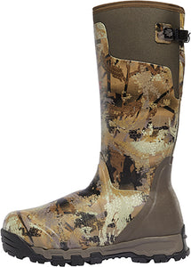 "'LaCrosse' Men's 18"" Alphaburly 1600G Hunting Boot - Camo / Gore™ Optifade™ Marsh"