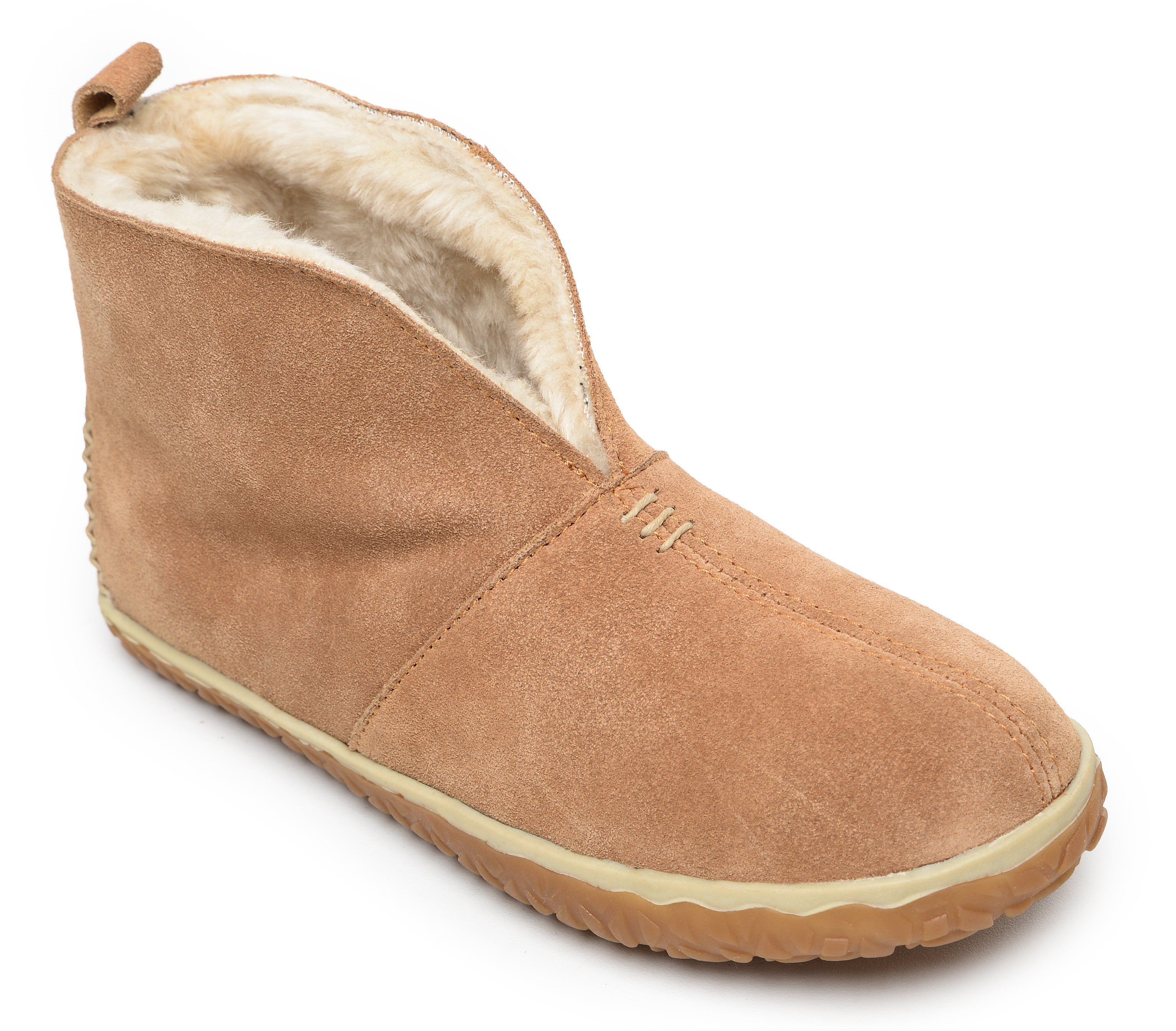 'Minnetonka' 40111 - Women's Tucson Slipper - Cinnamon