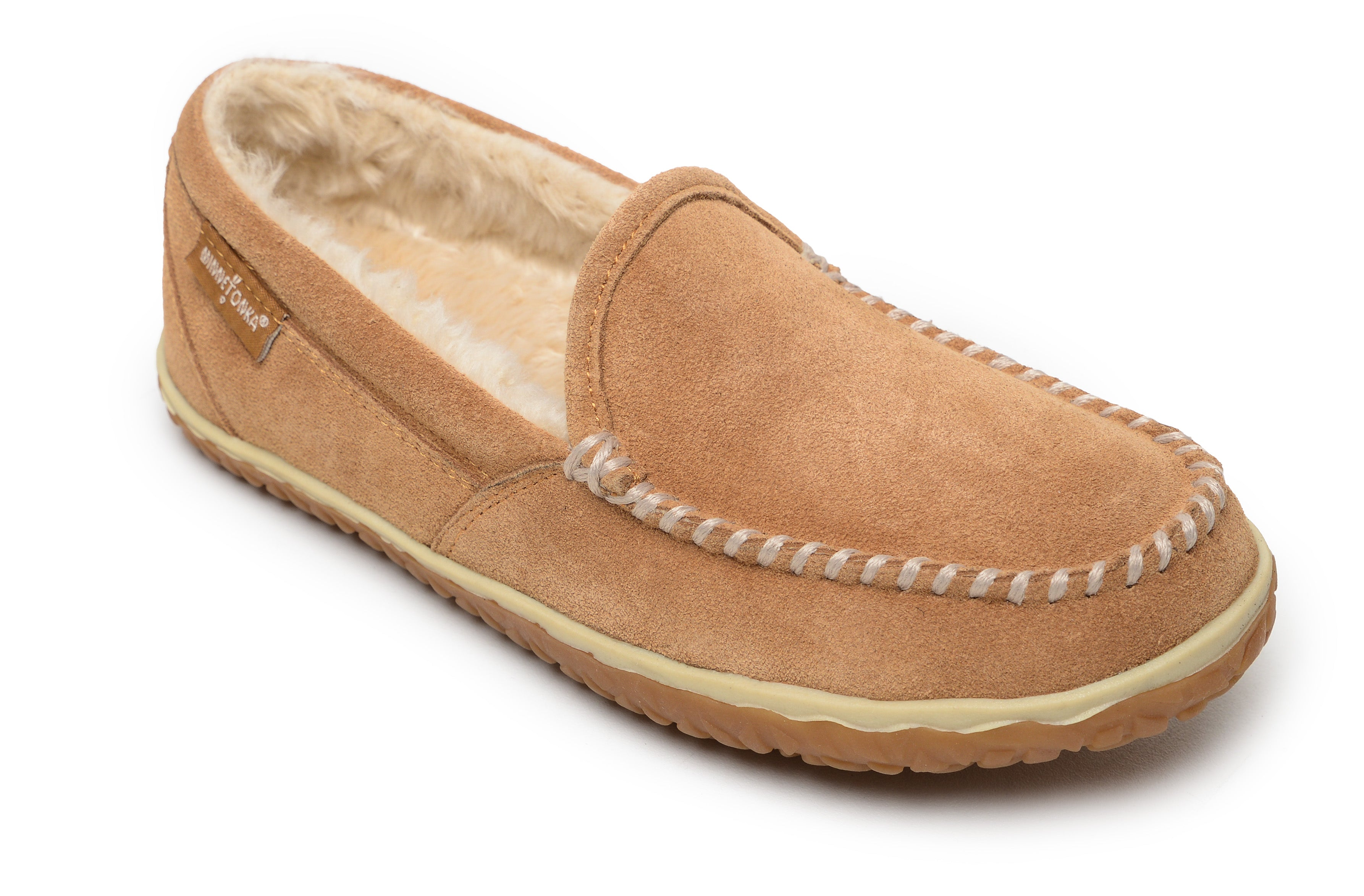 'Minnetonka' 40121 - Women's Tempe Slipper - Cinnamon