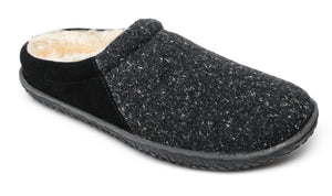 'Minnetonka' 40130 - Women's Tahoe Slipper - Black