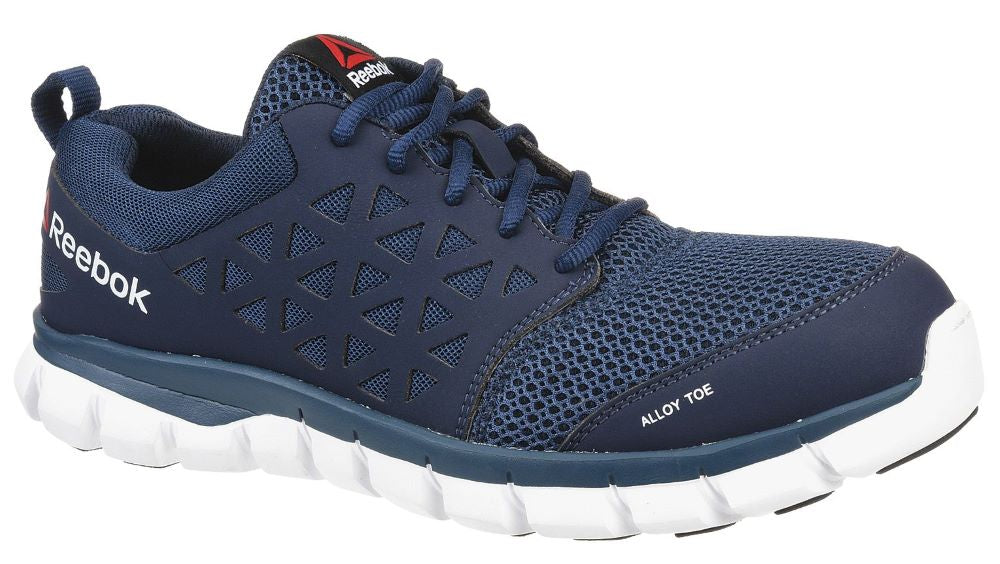 'Reebok' Men's Sublite Cushion ESD SR Alloy Toe - Navy