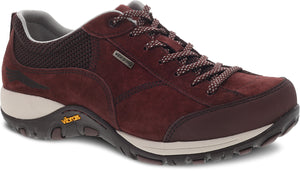 'Dansko' Women's Paisley Walking Shoe - Mahogany