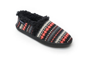 'Minnetonka' 44000 - Women's Dina Slipper - Black