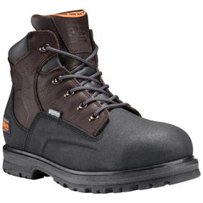 "Powerwelt 6"" Steel Toe Waterproof - Brown Oiled / Black"