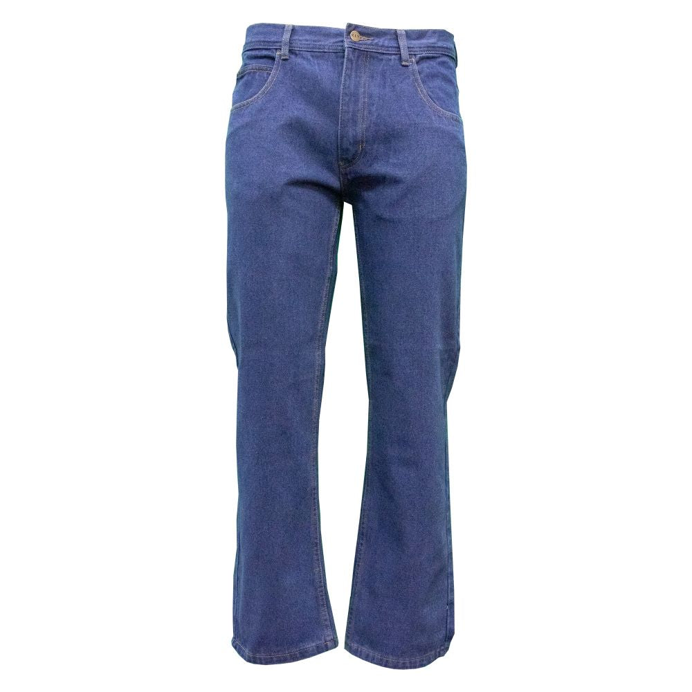 'KEY' Men's Performance Comfort 5 Pocket - Indigo Blue