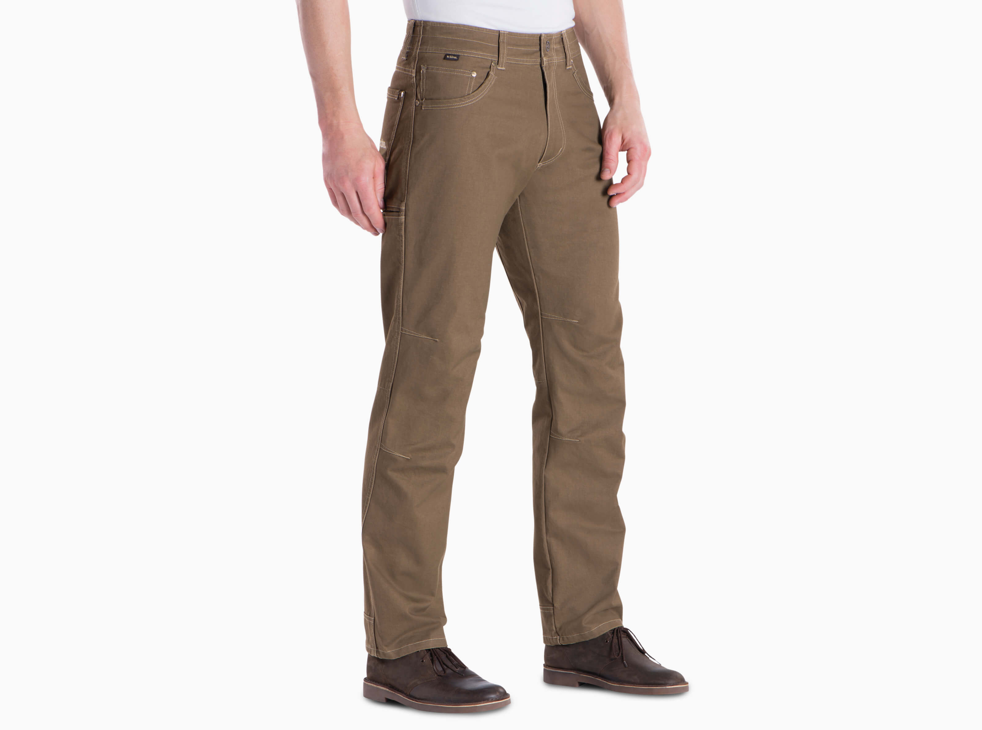 'Kuhl' Men's Hot Rydr™ Lined Pant - Dark Khaki
