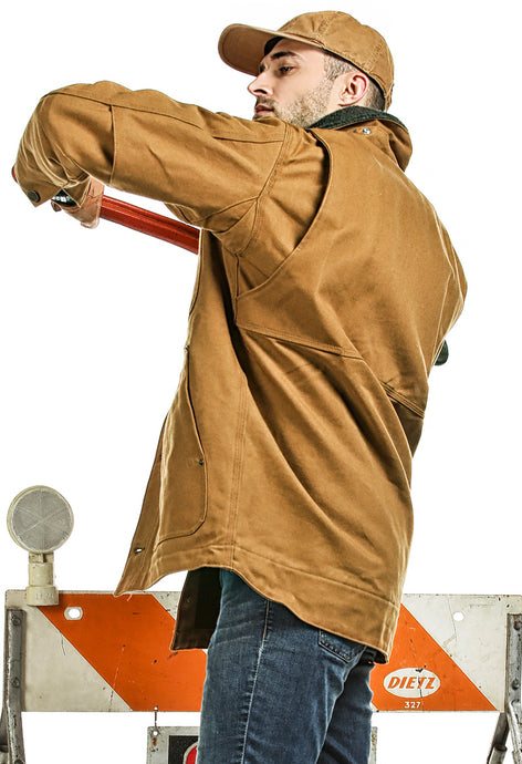 'Carhartt' Men's Full Swing Chore Coat - Carhartt Brown