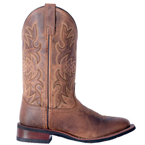 "'Laredo' Women's 11"" Anita Western Square Toe - Tan"